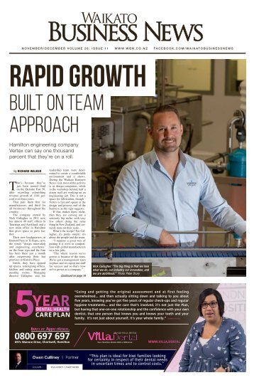 Waikato Business News November/December 2018