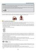 Portable Projector PA600X/PA500X/ PA550W/PA500U User's Manual - Page 5