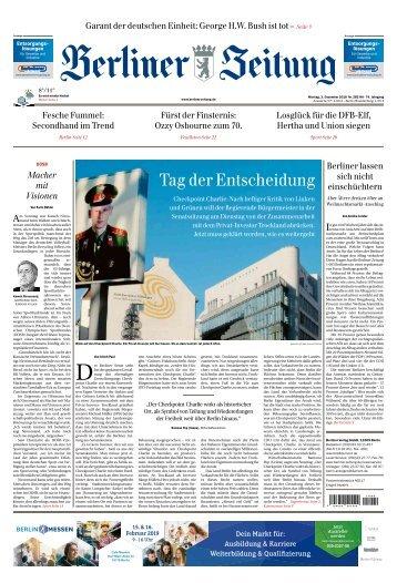 Berliner Zeitung 03.12.2018