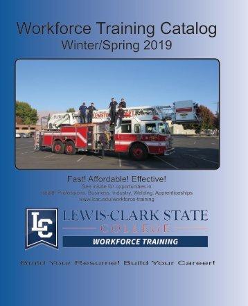 WFT Spring 2019 Catalog
