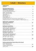 Installation: Handbuch ab Format 220cm Breite - Page 2