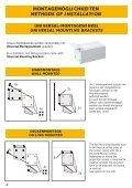 Installation: Handbuch ab Format 220cm Breite - Page 4