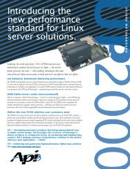 Introducing the new performance standard for Linux ... - MikeRoHard