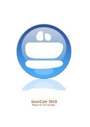 InterCafe 2012 Coin Acceptor Manual - Cybercafe Software