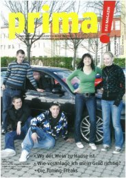prima! Magazin - Ausgabe Mai 2008