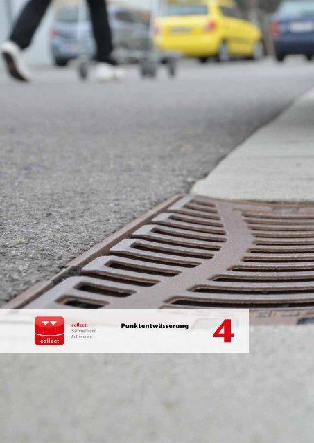 ACO Österreich Bauelemente Preisliste 2019 Kapitel 4 Punktentwässerung