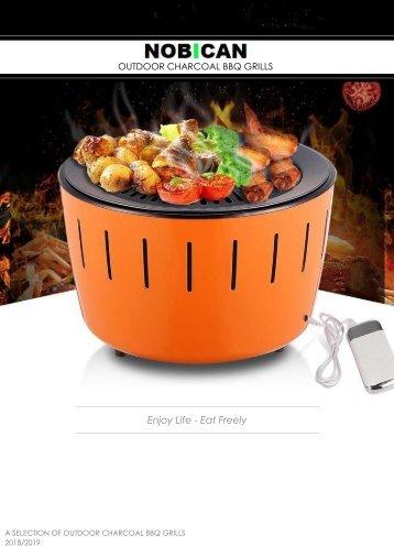 NOBICAN Portable BBQ KARBON