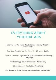 Everything About YouTube Ads