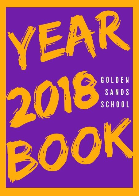 1. 60. 2018 Yearbook Cover