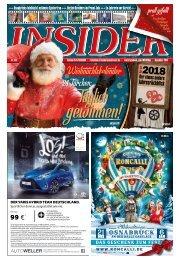 INSIDER Osnabrück // Dezember 2018 inkl. CHRISTMAS-SPECIAL