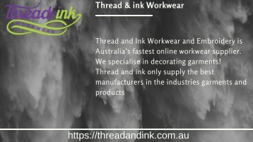 threadandink
