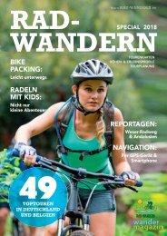 Rad-Wandern 2018 – Wandermagazin 198