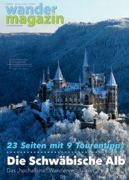Die Schwäbische Alb – Wandermagazin 197