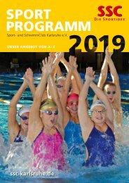 SSC Sportprogramm 2019