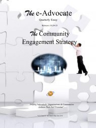 The Community Engagement Strategy