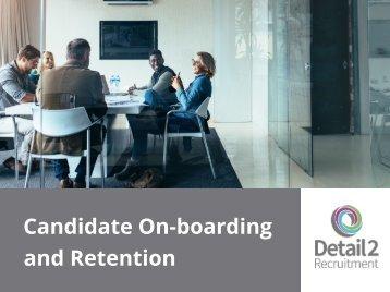 On-boarding & Retention 1