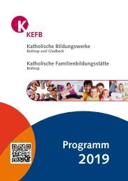 Bottrop @ KEFB Bistum Essen Jahresprogramm 2019