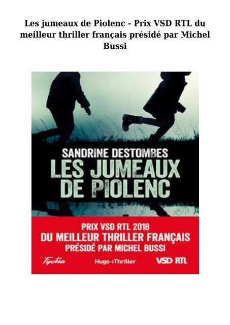 Telecharger Livre Gratuit Les Jumeaux De Piolenc Prix Vsd