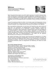 Sliding Hill - Mitton International Wines