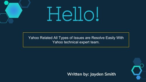 Yahoo Related Issues Solved Via Online | Dial 1877-503-0107