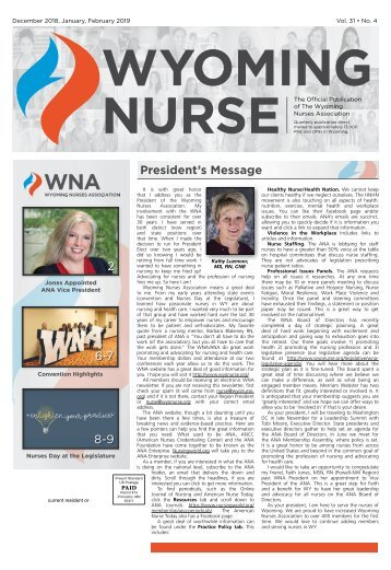 Wyoming Nurse December 2018