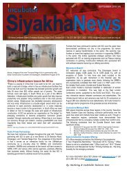 Siyakha News - September 2018 Issue