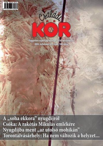 Családi Kör, 2018. december 6.