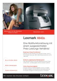 Lexmark X642e - MKC-Computer & sein Team heißt Sie Willkommen