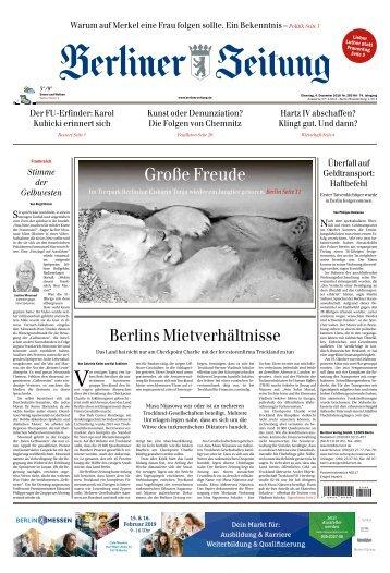 Berliner Zeitung 04.12.2018