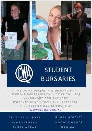 Student Bursaries Nov 2018
