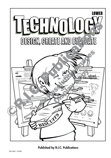 RIC-0520 Technology - Design Create Evaluate -  Ages 5-7