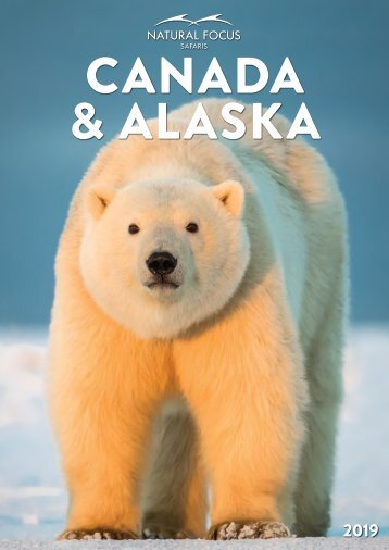 Natural Focus - Canada & Alaska Brochure