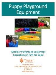 Puppy Playground Equipment Brochure