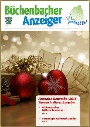 Dezember 2018 - Büchenbacher Anzeiger