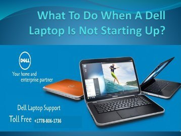 What To Do When A Dell Laptop Is-converted