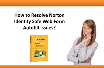 How to Resolve Norton Identity Safe Web Form Autofill Issues?