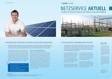 Ausgabe 9, 07/2011 - RWE Rhein-Ruhr Netzservice