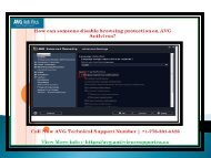 How can someone disable browsing protection on AVG Antivirus?