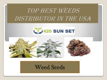 Buy weeds online US