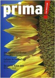 prima! Magazin - Ausgabe Juli 2008