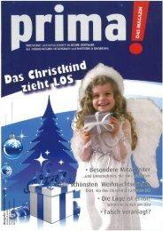 prima! Magazin - Ausgabe Dezember 2008