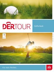 Golfurlaub 2019 DERTOUR