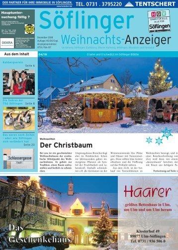 Söflinger Weihnachts-Anzeiger