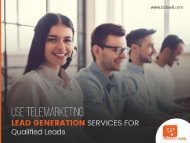The Best Lead Generation Companies - B2B Sell