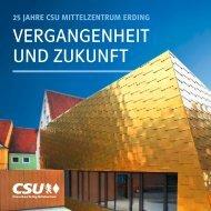 CSU Mittelzentrum Erding Jubiläumsbuch 2018