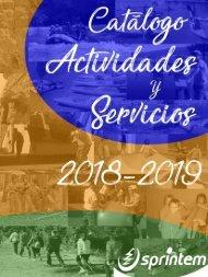 Catálogo actividades 2018-2019