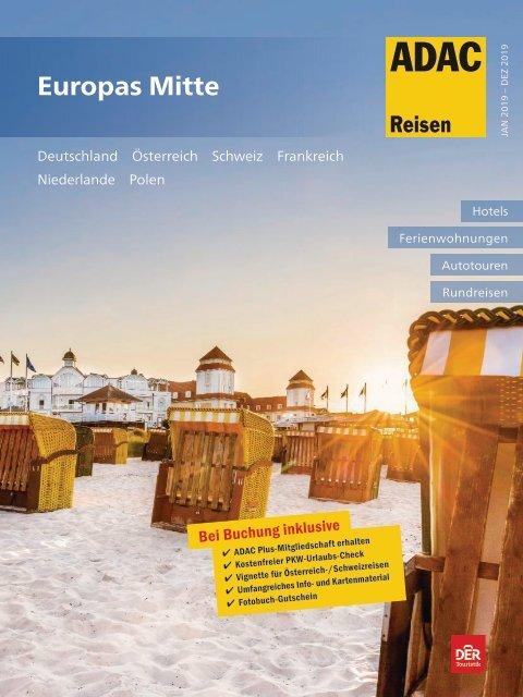Europas Mitte Sommer 2019 ADAC