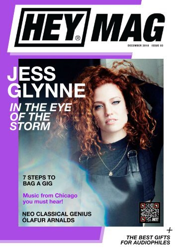Hey Music Mag - Issue 3 - December 2018