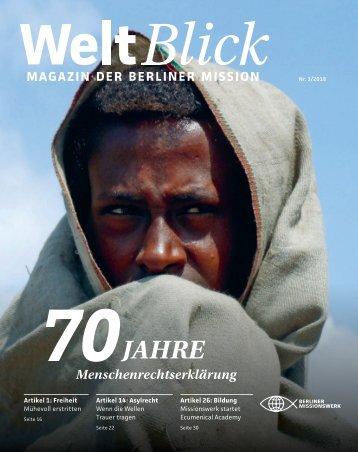 WeltBlick 3/2018