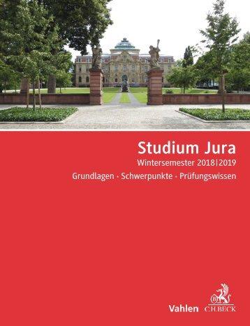 Studium Jura